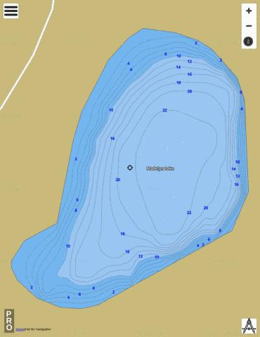 Madelyn Lake Fishing Map - i-Boating App