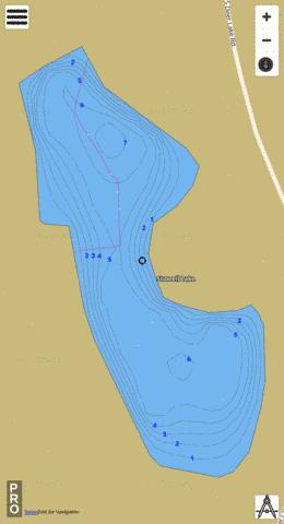 Stowell Lake Fishing Map - i-Boating App
