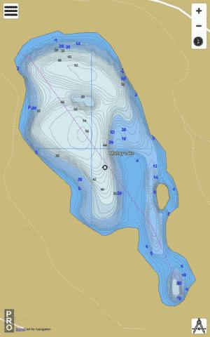 Maltby Lake Fishing Map - i-Boating App