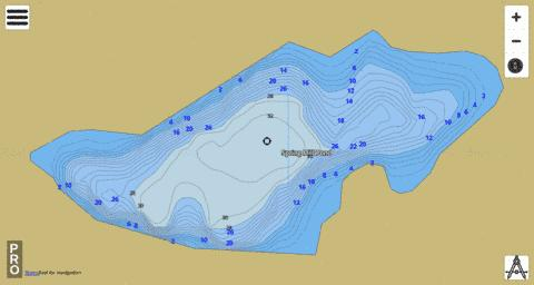 Spring Mill Pond Fishing Map - i-Boating App