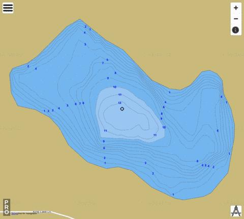 no name Fishing Map - i-Boating App