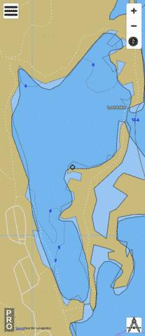 Lost Lake Fishing Map - i-Boating App