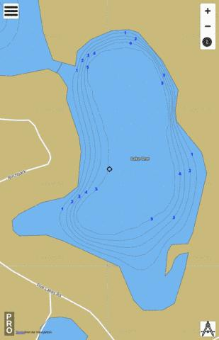 Five Lakes Fishing Map - i-Boating App