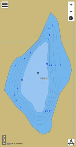 Bell Lake Fishing Map - i-Boating App