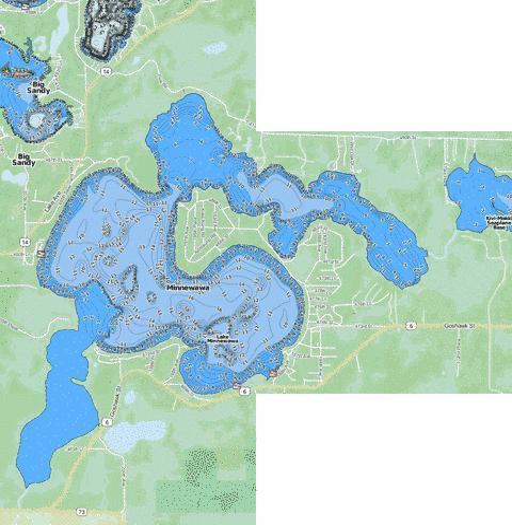 Minnewawa fishing map us mn 01003300 nautical charts app for Fishing spots app