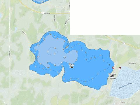Section Ten Fishing Map - i-Boating App