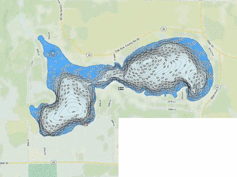 Lone Fishing Map - i-Boating App