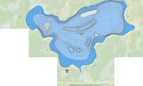 Esquagamah Fishing Map - i-Boating App