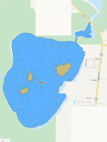 Baldwin Fishing Map - i-Boating App
