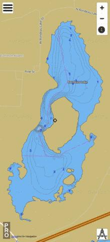 Rondeau Fishing Map - i-Boating App