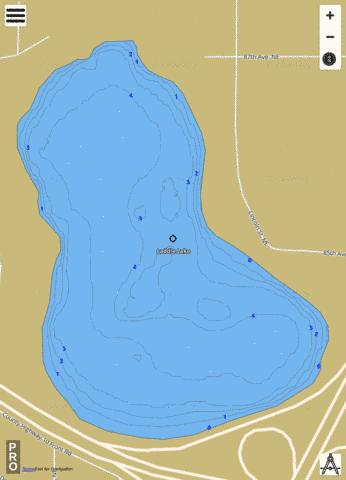 Laddie Fishing Map - i-Boating App