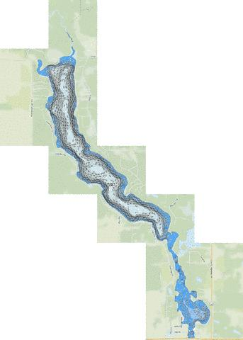 Straight Fishing Map - i-Boating App