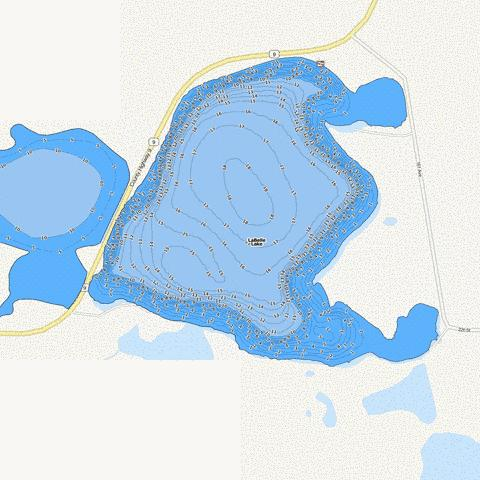 East LaBelle Fishing Map - i-Boating App