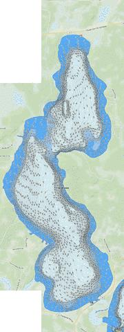 Andrusia Fishing Map - i-Boating App