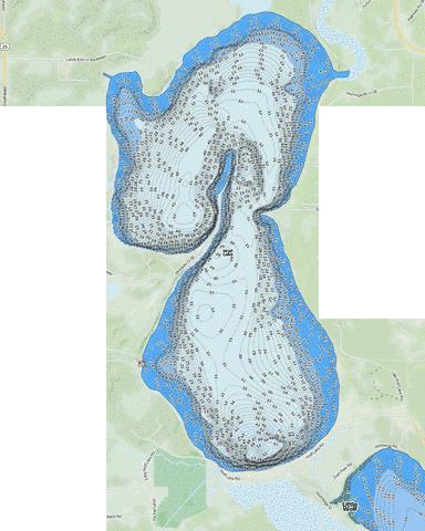 Wolf Fishing Map - i-Boating App