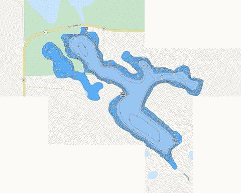 Long Tom Fishing Map - i-Boating App
