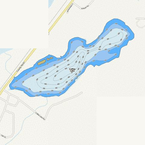 Coffee Fishing Map - i-Boating App