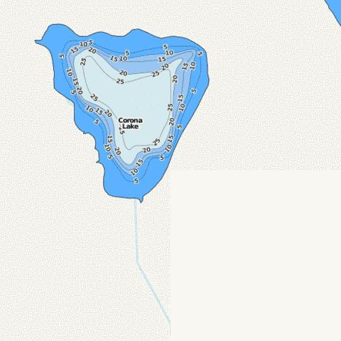 Corona Fishing Map - i-Boating App