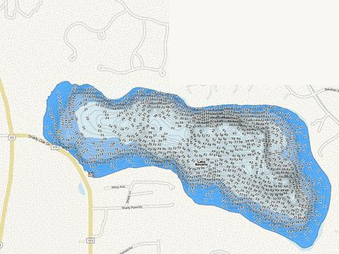 Bavaria Fishing Map - i-Boating App