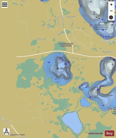 Stone Fishing Map - i-Boating App