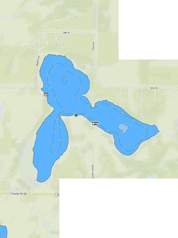 Goose Fishing Map - i-Boating App