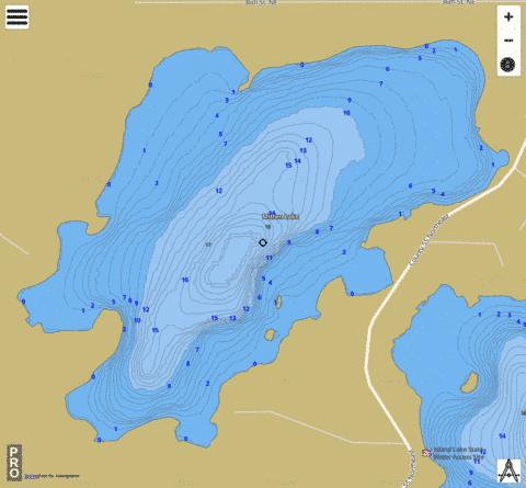 Mitten Fishing Map - i-Boating App