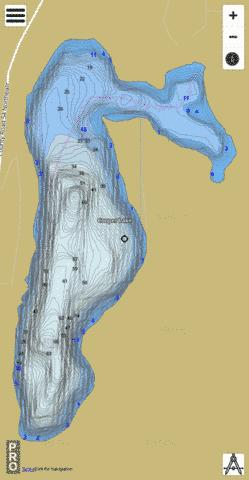 Cooper Fishing Map - i-Boating App
