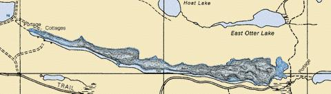 Birch Fishing Map - i-Boating App