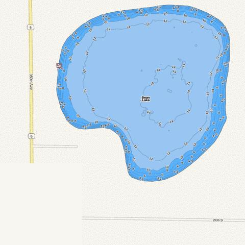 Bean Fishing Map - i-Boating App