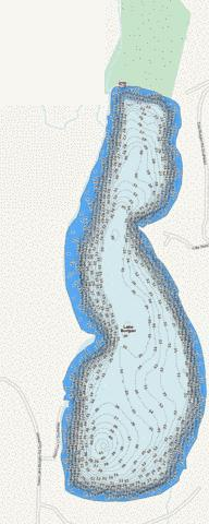 Burgen Fishing Map - i-Boating App