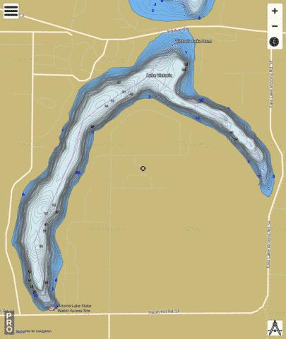 Victoria Fishing Map - i-Boating App