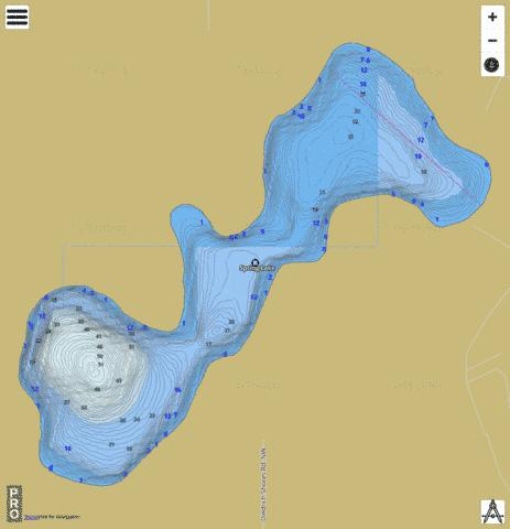 Spring Fishing Map - i-Boating App