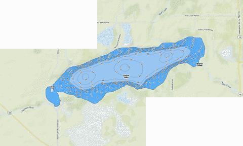 Stowe Fishing Map - i-Boating App
