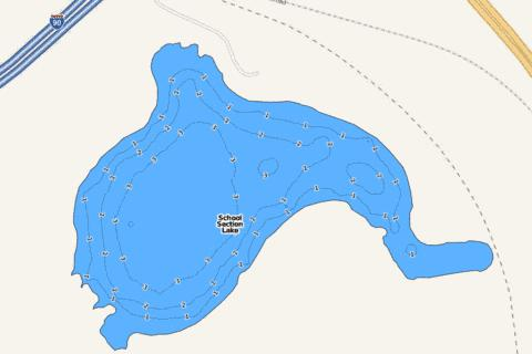School Section Fishing Map - i-Boating App
