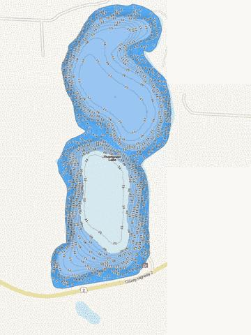 Thompson Fishing Map - i-Boating App