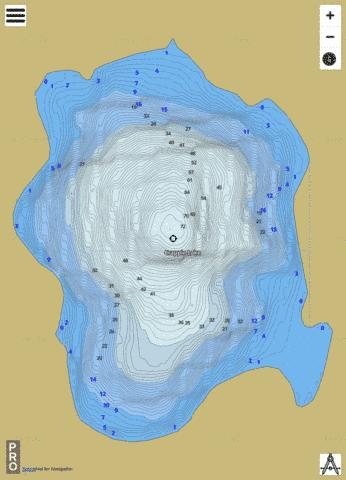 Crappie Fishing Map - i-Boating App