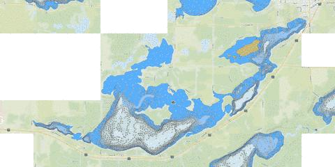 Belle Taine Fishing Map - i-Boating App