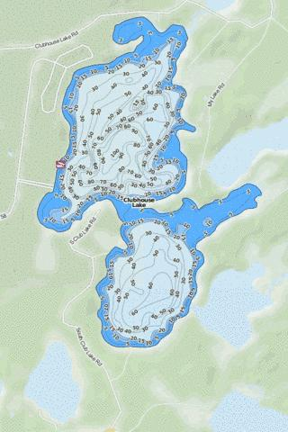 Clubhouse Fishing Map - i-Boating App
