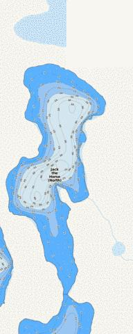 Jack the Horse (North) Fishing Map - i-Boating App