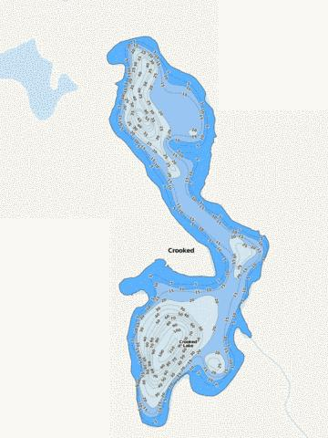 Crooked Fishing Map - i-Boating App