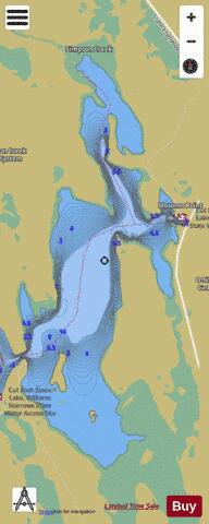 Cut Foot Sioux(East Bay) Fishing Map - i-Boating App