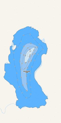 Hendrickson Fishing Map - i-Boating App