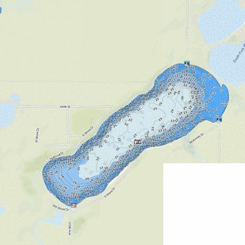 Fish Fishing Map - i-Boating App