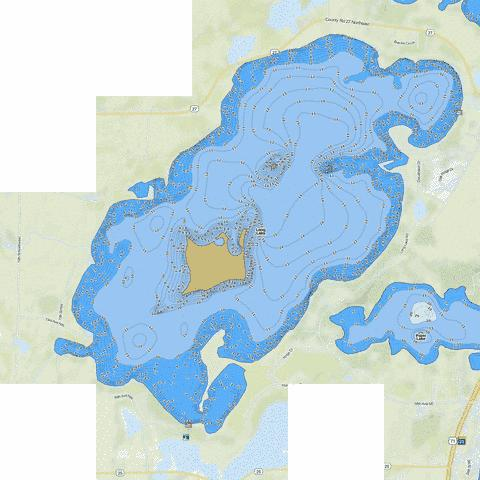 Long Fishing Map - i-Boating App