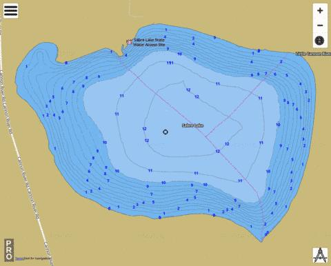 Sabre Fishing Map - i-Boating App