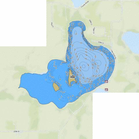 Hook Fishing Map - i-Boating App
