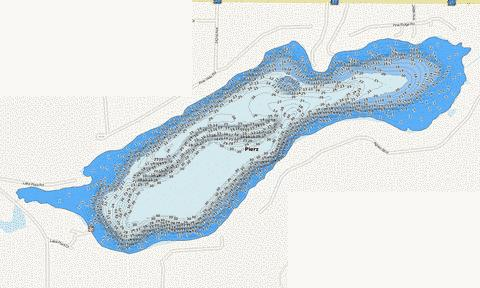 Pierz Fishing Map - i-Boating App
