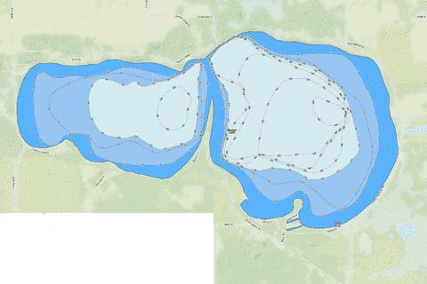Marion Fishing Map - i-Boating App