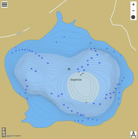 Kempfer Fishing Map - i-Boating App