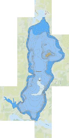 Pokegama Fishing Map USMN Nautical Charts App - Pokegama lake map